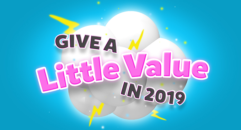 Give a Little Value
